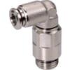 Insteekkoppeling L - cilindrische buitendraad, zwenkbaar, lange uitvoering - type ECSSL..B