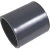 PVC-U coupling - Sleeve (PVC) x Sleeve (PVC)