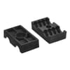 Pipe clamp set dual polypamide
