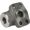 SAE threaded flanges 6000 psi - 90º
