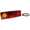 Multifunction rear LH light LED, rectangular, 12-24V, 287.5x100.5x65mm, Kramp