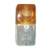 Marker light 21/5W, rectangular, 12V, amber/transparent, bolt on, 125x45x62mm, Hella