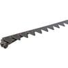 Cutterbar mower knife, 28 sections