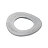 DIN 137B wave spring washer, zinc-plated