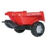 R12881 RollyKipper II tippvagn röd