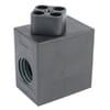 Electric control unit for manual control valves