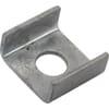 U-washer for flat wall brackets