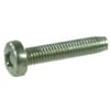 DIN 7500C Taptite screws with cross-slot raised head, metric zinc-plated