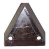 Triangle feeder wagon knives