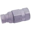 Quick-release coupling, flat face, plug type FFH-UNF