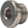 Plug cilindrische draad met o-ring type HHHP..