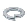 Spring lock washer M10x18.1x2.2mm, Steel Zinc-plated DIN 127b Kramp