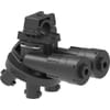 SELEJET nozzle holders with flow-stop valve