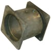 Rotation coupling - square flanges