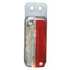Front position light 5W, rectangular, 12/24V, red/white, bolt on, Hella