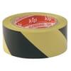 Warnband PVC - schwarz/gelb