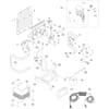 Tragegestell, Pumpe, Elektronik