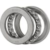 +Self-aligning ball bearing Steel Power series 51