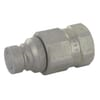 Quick-release coupling, flat face, plug type FFH-NPT