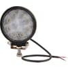 Work light LED, 24W, 1920lm, round, 10/30V, Ø 110mm, Flood, 8 LED's, Kramp