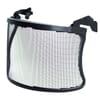 Stainless steel mesh visor