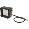 Work light LED, 18W, 1620lm, square, 10-30V, 81x76x78mm, Flood, Kramp