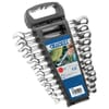 Set of ratchet combination wrenches