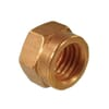 Exhaust nuts, metric, steel copper-plated