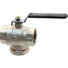 Ball valve 2x female with built-in filter