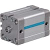 DA compact cylinders DIN ISO 21287, inner thread and magnet - bore Ø16mm