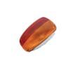 Rear light rectangular, red/amber, bolt on, 259x158mm AMP plug, Cobo