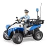 U63010 Policeman with quad