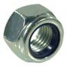 DIN 982 self-locking hexagonal nuts, metric class 8 zinc-plated