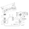 Hydraulische werktuigvergrendeling elektrisch bediend