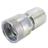 Quick release coupling type VVS female with BSP female thread, Stainless steel, Viton