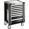 JET.8GM3EACC E-Access tool trolley with 8 drawers