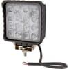 Work light LED, 48W, 3840lm, square, 10/30V, 112x54.5x136mm, Flood, 16 LED's, Kramp