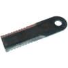 Szecskavágó kés fogazott 4 mm