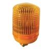 Rotating beacon Halogen, round, 12V, amber, housing: yellow, bolt on, Ø 135mm x221mm, KL 7000 by Hella