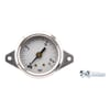Steel pressure gauge assembly, 40 mm
