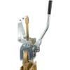 Heavy duty handle for MZ gate valves