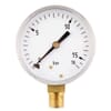 Pressure gauge bottom connection, 63 mm, stainless steel