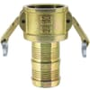 Camlock industrial couplings with hose end