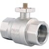 Pneumatic actuated ball valves - without control
