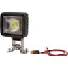 Work light LED, 25W, 2500lm, square, white, 105x84x105mm Deutsch plug, Wide flood, 1 LED, Kramp