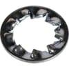 DIN 6798J flat serrated washers, zinc-plated