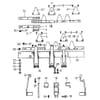 ESM - Einzelteile für gebogen Ansatzstück 60cm Doppelmesserbalken