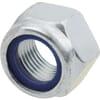 Lukitusmutteri DIN985 M16x1.50 sinkitty luokka 10 Kramp
