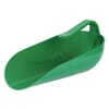 Feed Scoop Plastic green