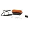 Marker light LED, rectangular, 12/24V, orange, bolt on, 119x35x46mm